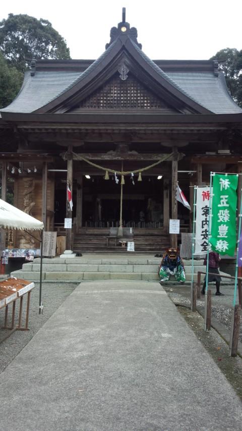 里宮神社に参拝