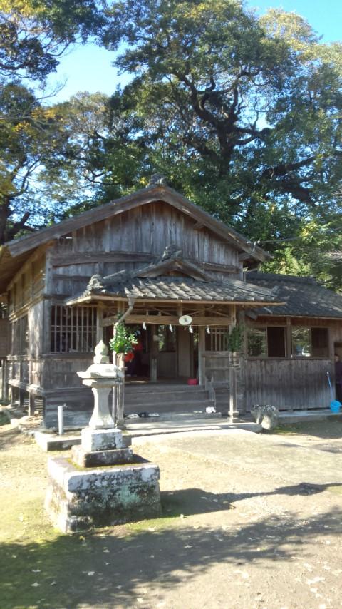 中神白木神社に参拝