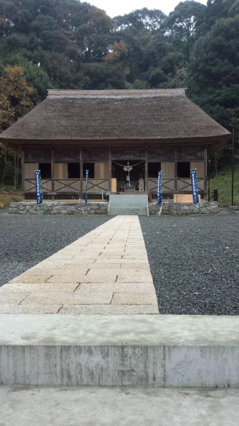岩屋熊野座神社に参拝
