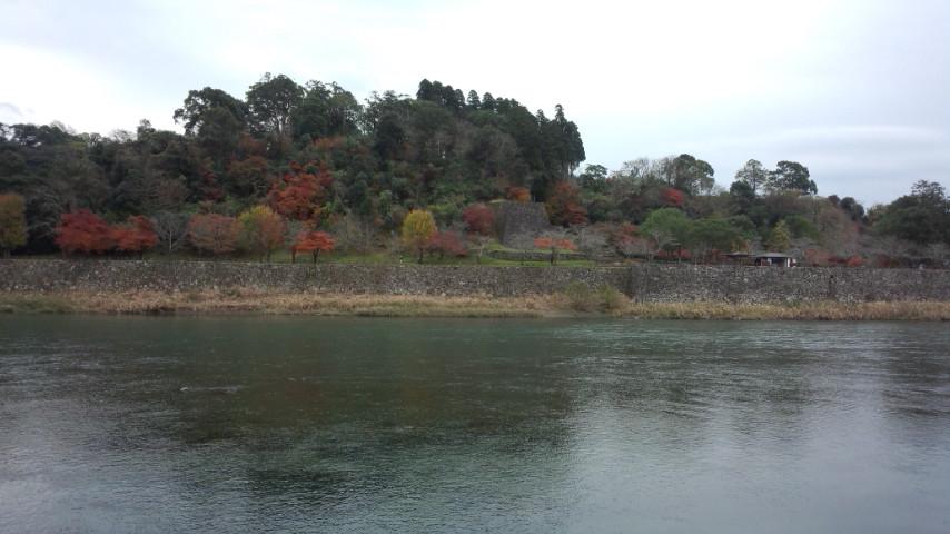 人吉城紅葉