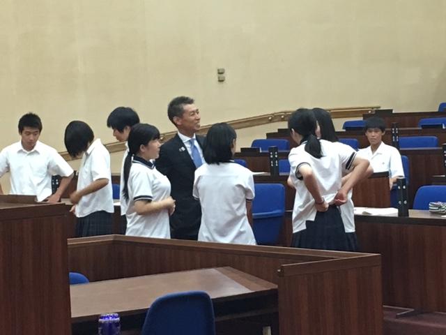 高校生県議会